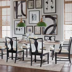 Opposites Attract Attention Dining Room