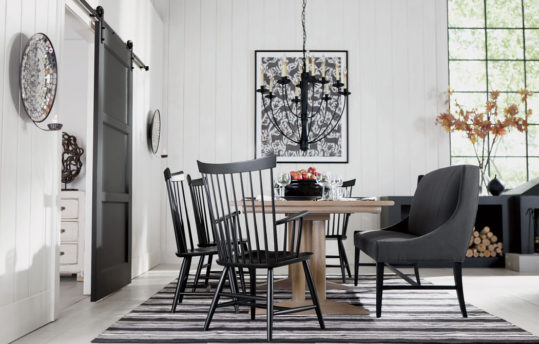 Modern Farmhouse Dining Room Inspiration Ethan Allen