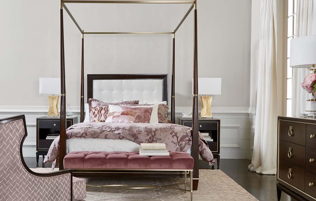 Get Glam Bedroom  Ethan Allen Design Ideas  Ethan Allen