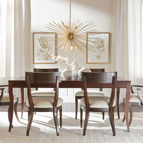 Effortlessly Elegant Dining Room