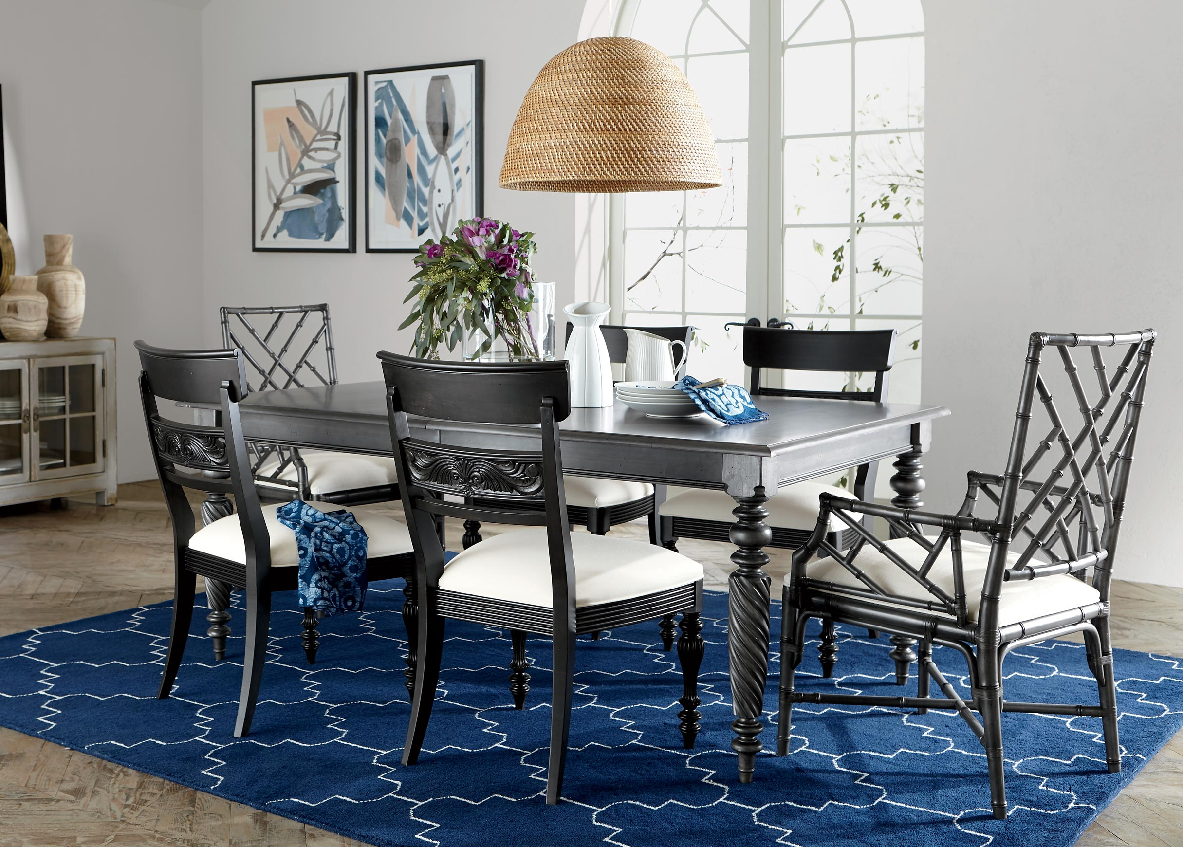 Island-Inspired Dining Room Main Image