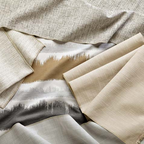 Shades of Sand Fabric Collection Tile