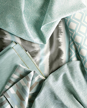 Splash of Seaglass Fabric Collection