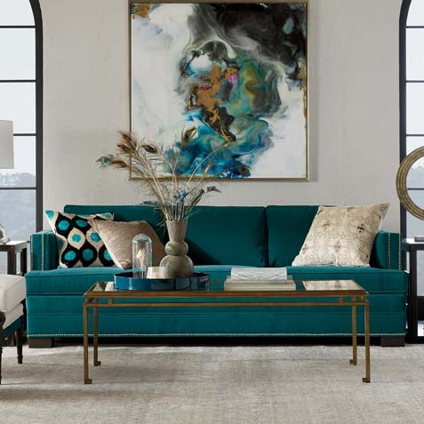 Contemporary Urban Living Room Tile