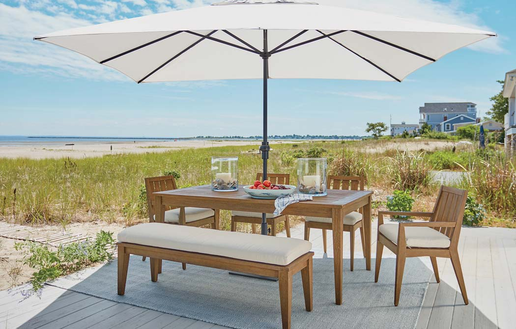 Outdoor Dining Room by the Beach Main Image