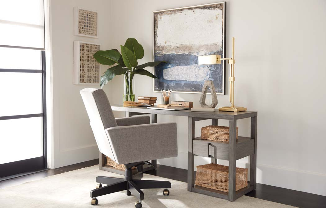 Corner Home Office, Small Space Office Ideas | Ethan Allen ...