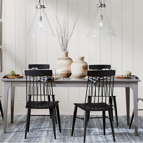 New Farmhouse-Style Dining Room Tile