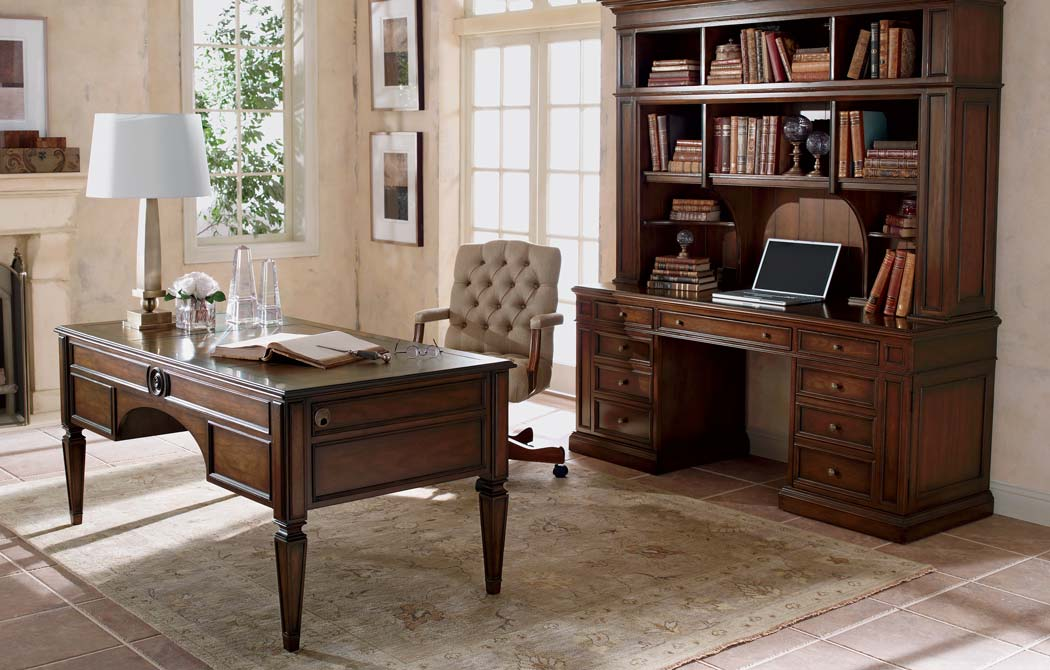 Working Cl Home Office | Ethan Allen | Ethan Allen on home library with ladder, home office furniture ideas, home office desk with drawers, home office furniture design, girls loft bunk beds with desk, home office bookcase with ladder, home office desk furniture wood, home office wall units with desk,