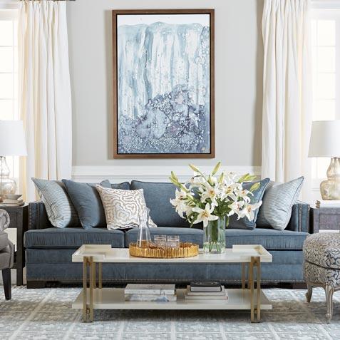 Living Room Decorating Ideas | Living Room Inspiration | Ethan Allen