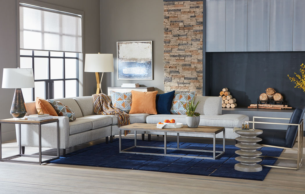 Mid-Mod Comfort Living Room Main Image