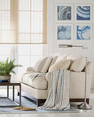 Shop Custom Quick Ship Seating   Living Room Furniture   Ethan Allen ...