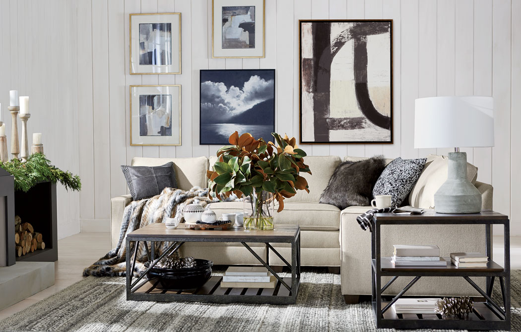 Cozy Cottage Style Living Room | Ethan Allen | Ethan Allen
