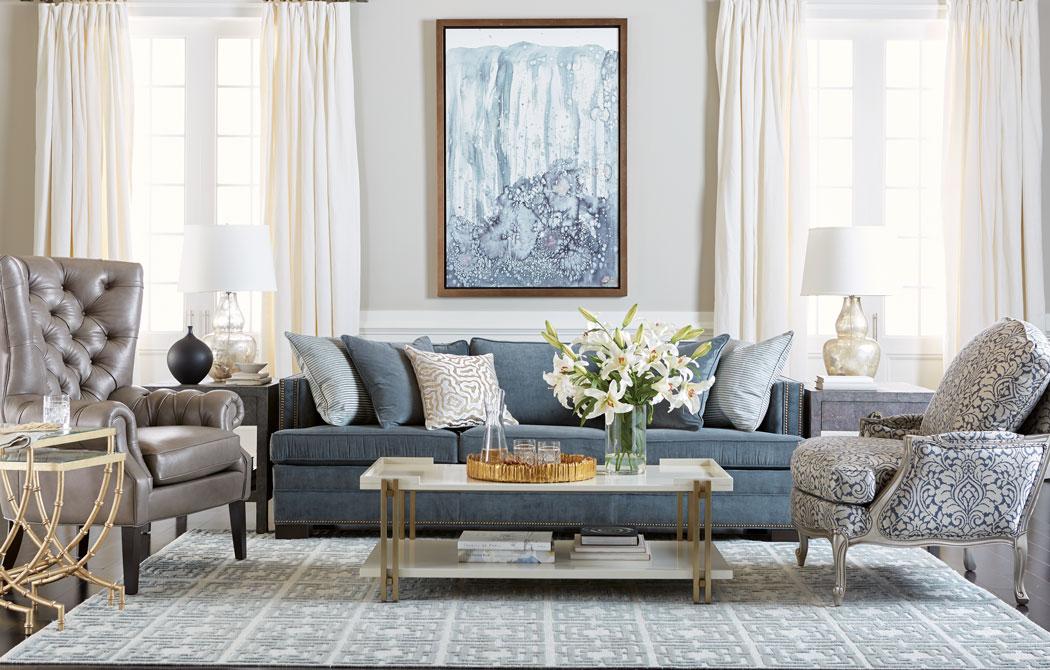 Eclectic Elegance Living Room  Elegant Living Room  Ethan Allen