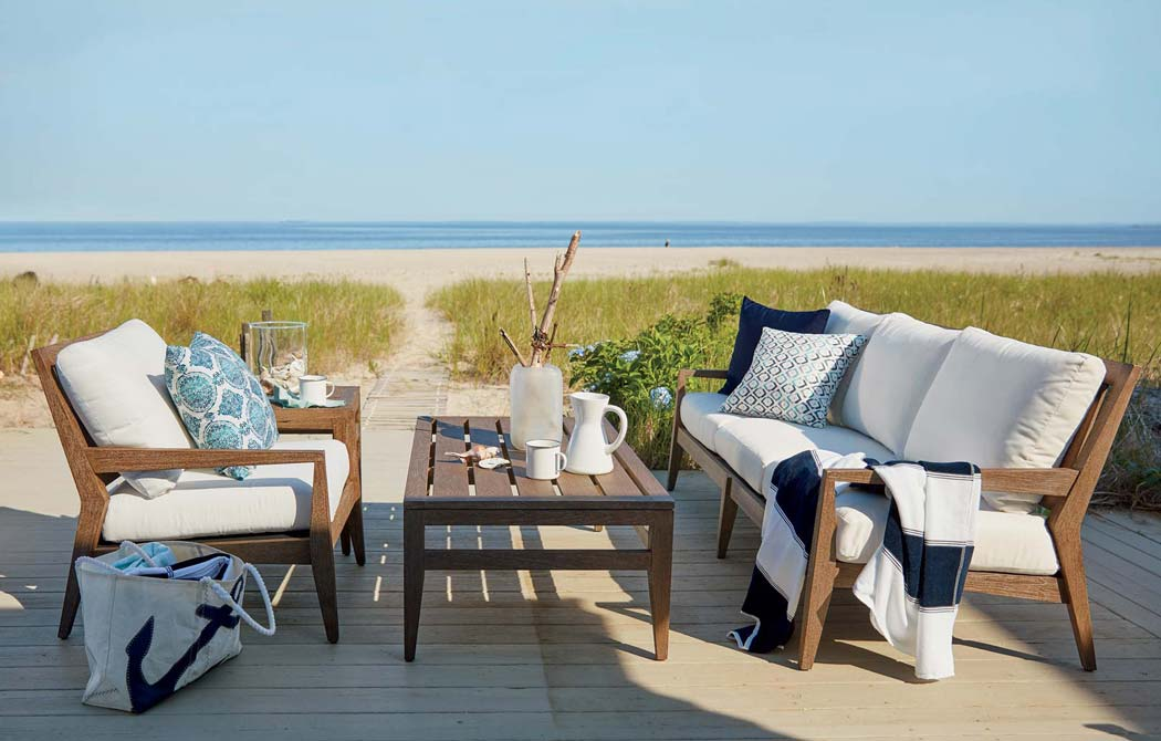 Outdoor Living Room by the Beach Main Image