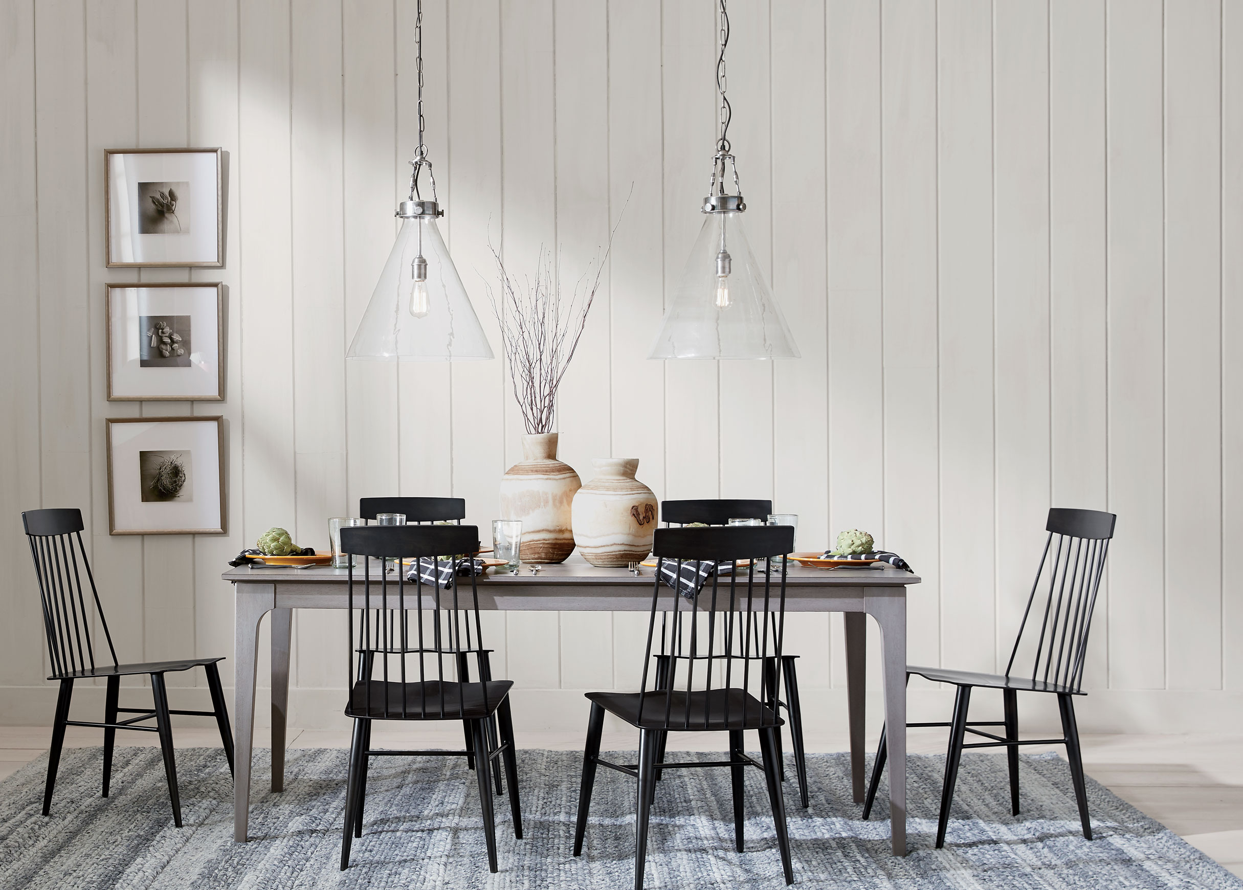 New Farmhouse Style Dining Room Main Image