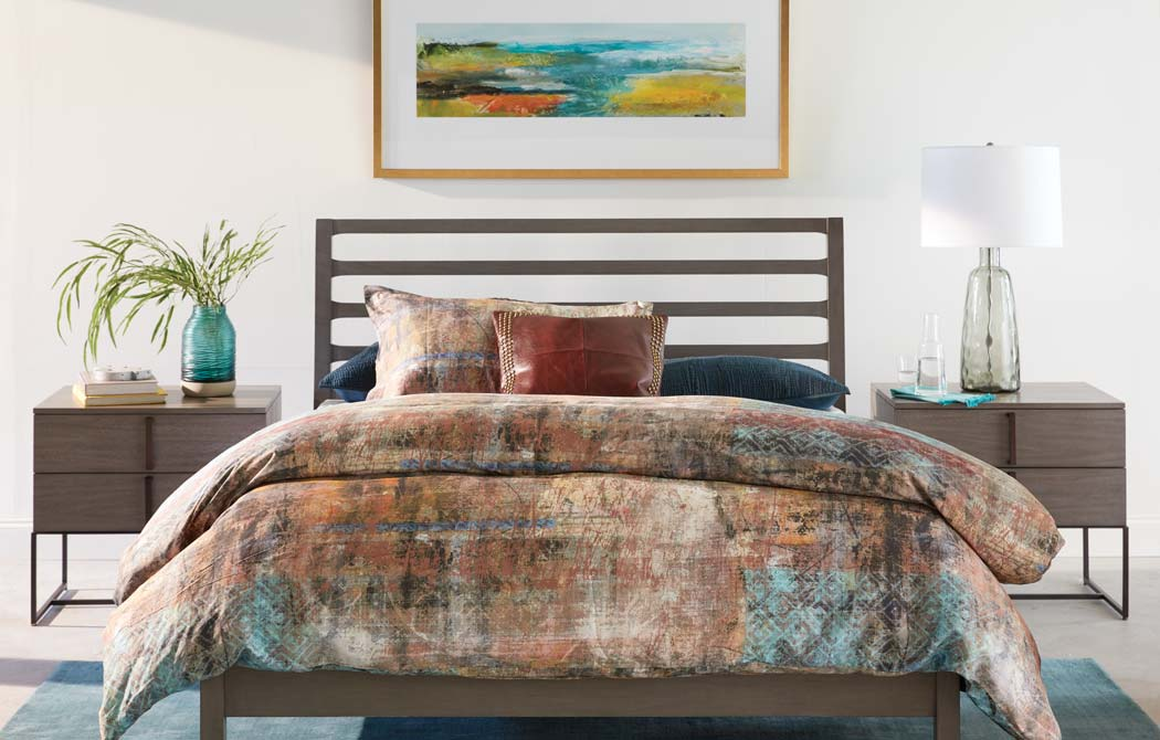 Colorful Orange And Teal Bedroom Ideas Ethan Allen Design
