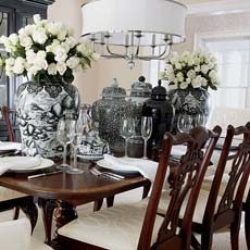 Lots Of Luxe Dining Room