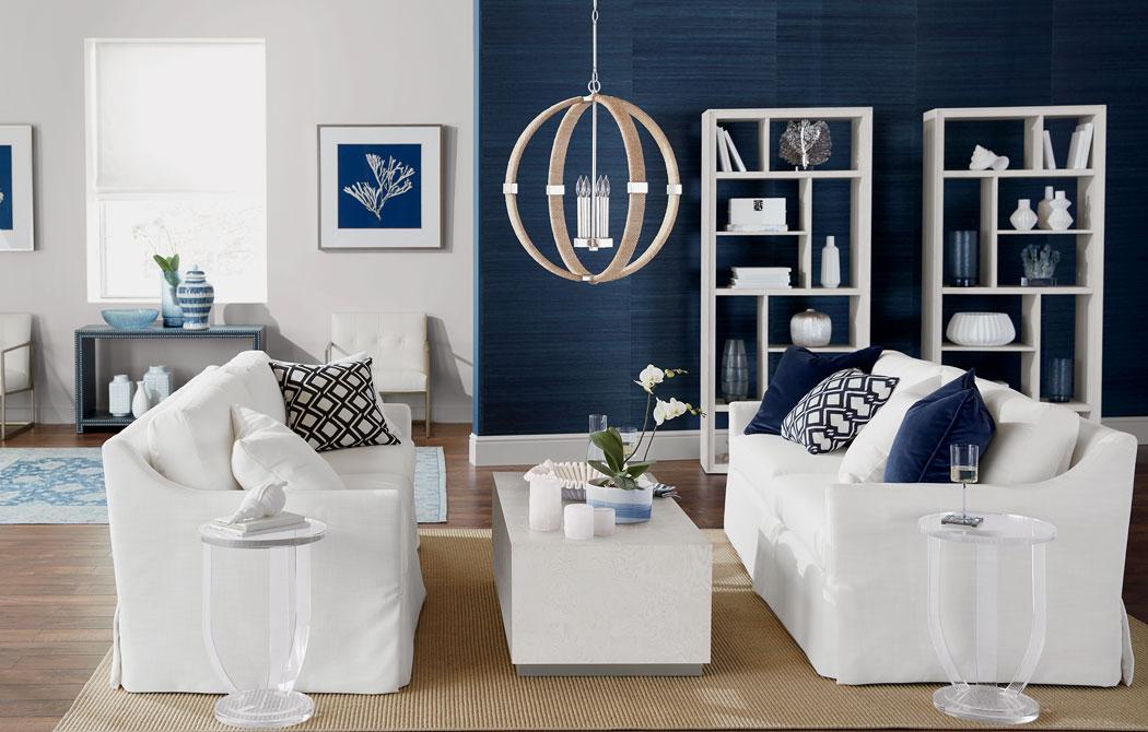 Contemporary Coastal Living Room | Ethan Allen