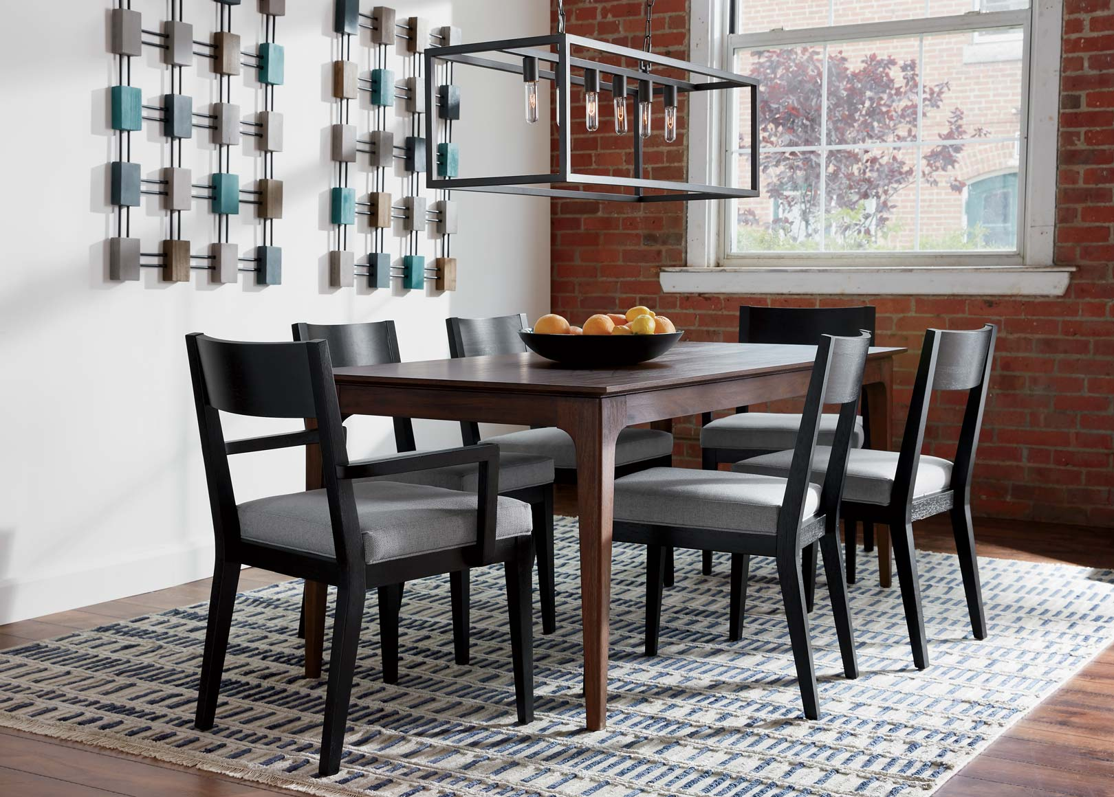 Blue Gray Dining Room Inspiration