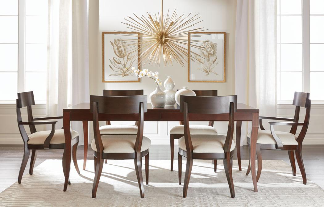 Effortlessly Elegant Dining Room  Ethan Allen  Ethan Allen