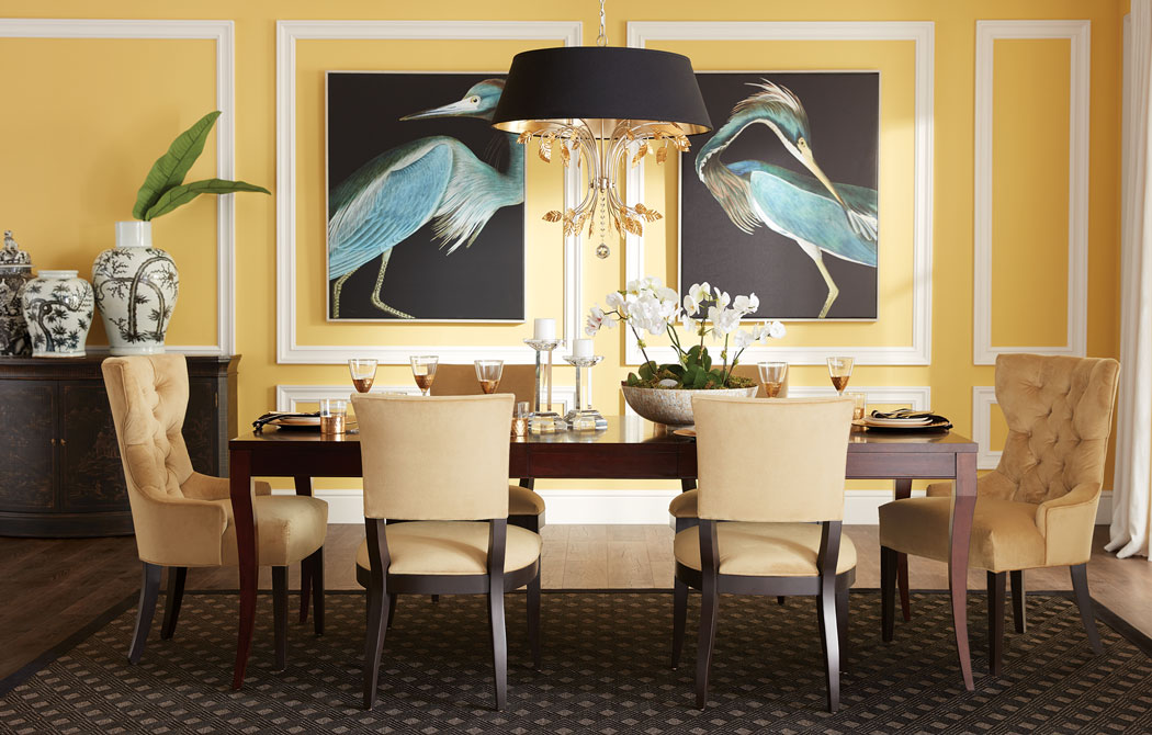 All That Glitters Is Gorgeous Dining Room Main Image