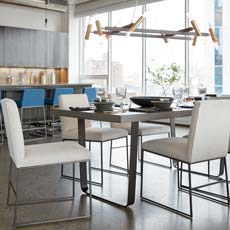 Family Friendly Modern Dining Room
