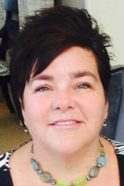 Designer Mary Ann Gutierrez